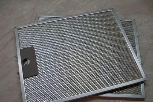 Металлический фильтр для кухонной вытяжки