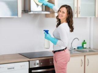 Как правильно очистить вытяжку от жира в домашних условиях