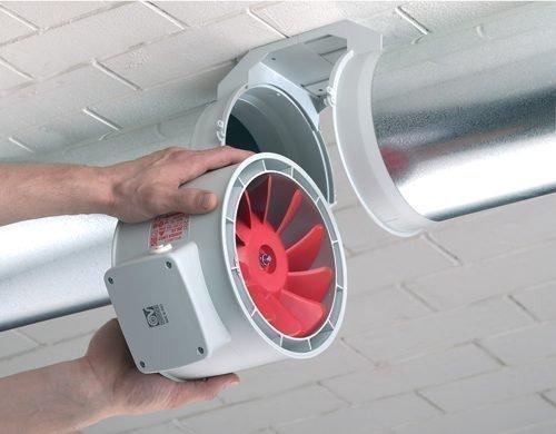 Встраиваемый вытяжной вентилятор