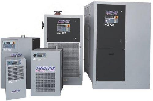 Осушители воздуха холодильного типа