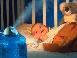 Увлажнитель воздуха: нужен ли он новорожденному?