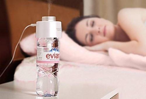 Увлажнитель воздуха из бутылок