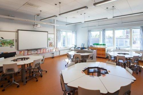 Современный кабинет в школе