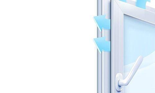 Микровентиляция в пластиковых окнах