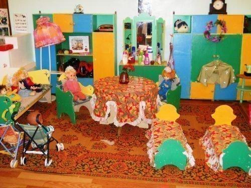 Игровая зона детского сада