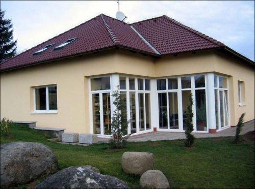 Коттедж с ПВХ окнами