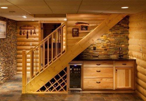 Подвал в деревянном доме