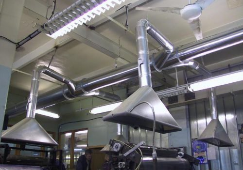 Принудительная вентиляция промышленных помещений