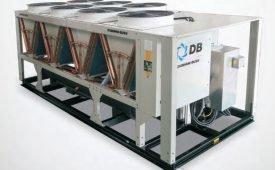 Устройство чиллера с воздушным охлаждением конденсатора