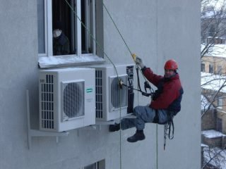 Правила установки кондиционера зимой